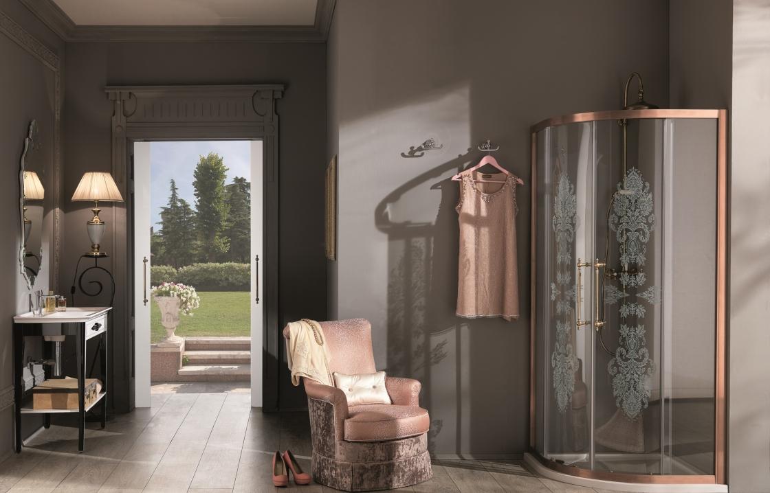 Dušo kabinos kolekcija - Villa Borghese